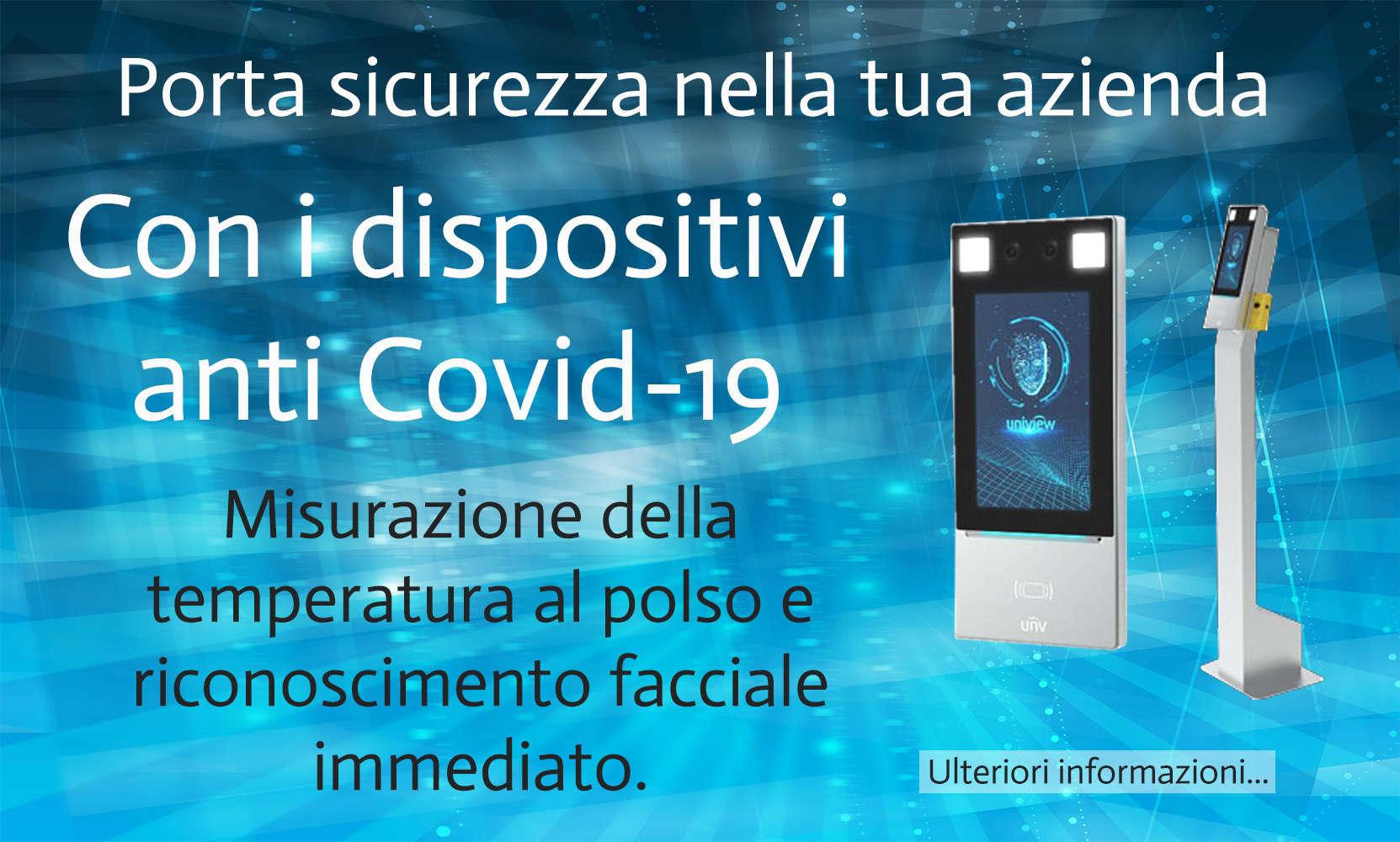 Soluzioni integrali prevenzione COVID-19